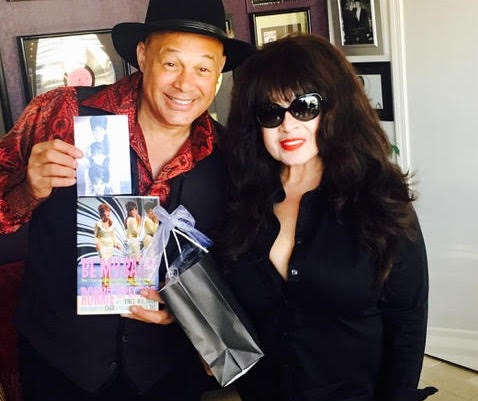 Narada Michael Walden and Ronnie Spector